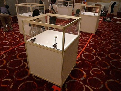 PC耐力板展览展示柜