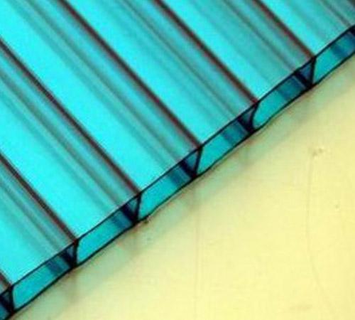 PC湖蓝色阳光板