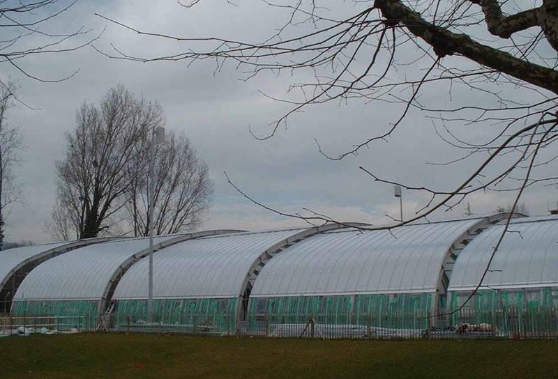 阳光板顶棚工程